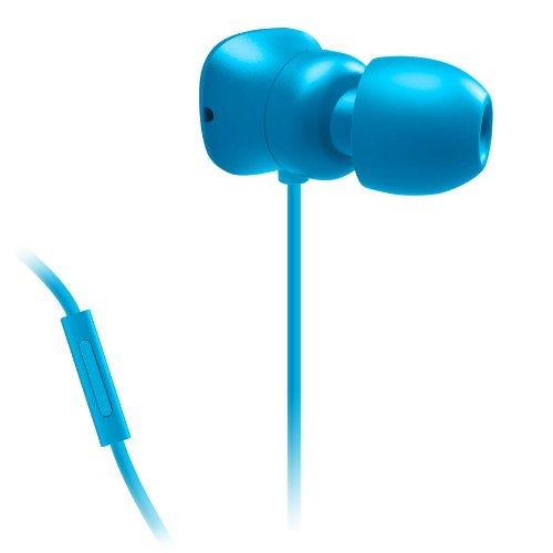 Belkin Mixit Pureav 002 Headphones With Built-In Microphone (Blue) Blue