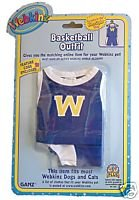WE000316 Basketball Outfit Webkinz New Code Sealed With Tag - 1