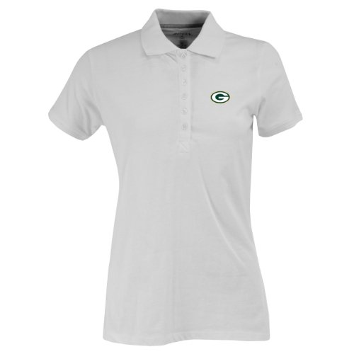 NFL Women's Green Bay Packers Spark Short Sleeve Polo