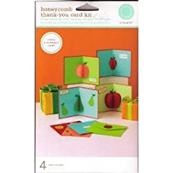 Martha Stewart Create Honeycomb Thank You Card Kit