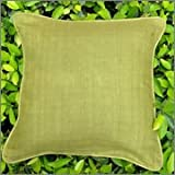 Cushion Casa Cushion Covers (Green) - B00NMC7N8K