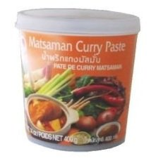 Cock Brand - Thai Matsaman Curry Paste - 14 Oz