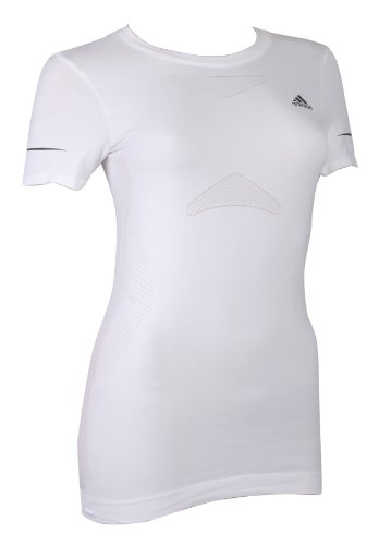 Adidas Supernova Sequence Womens Short Sleeve Running Tees Jogging T-Shirts Sports Training Fitness Tops Snova Seq S/S for ladies women