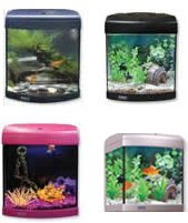 Aqua_One Aquastart 320 Bow Front Aquarium Set