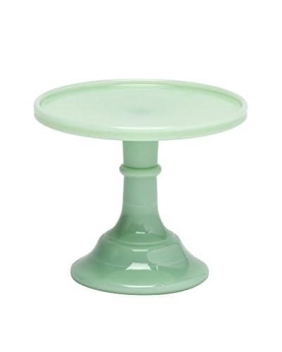 Mosser Glass 6 Jadeite Green Cake Stand