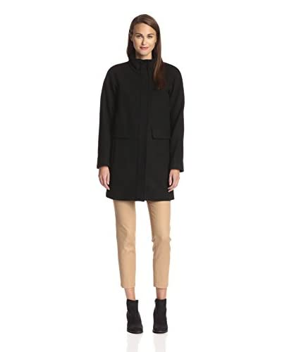 Vince Camuto Women's Stand Collar Coat