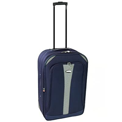 Azure Cabin Approved Lightweight Suitcase (Navy/Silver) from Azure