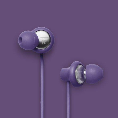Urbanears Kransen Lilac Purple Earphones Earbuds Headphones Mic Remote 04090119