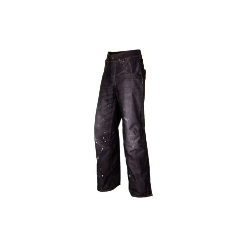 686 LTD Destructed Denim Insulated Pant - Men's [並行輸入品] M Black Denim Thrash