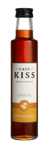 Café Kiss Gingerbread Flavoured Coffee Syrup 250ml (Pack of 3)
