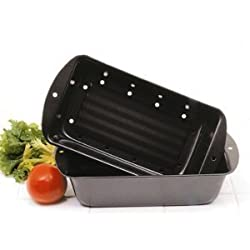 Norpro 2 Piece Nonstick Meatloaf Bread Pan Set