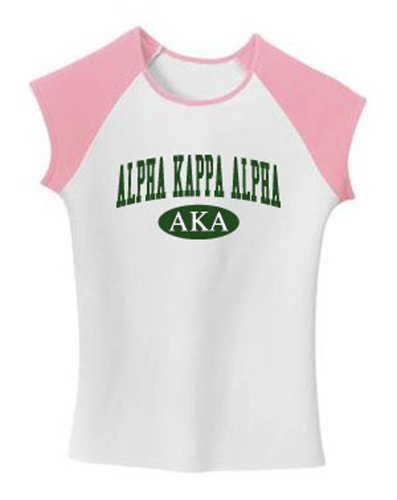 Alpha Kappa Alpha T Shirt, Name & Letters