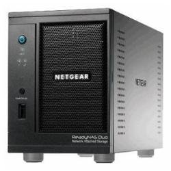 Netgear RND2110-100ISS Readynas Duo NAS-System mit Festplatten 1x1TB (2-Bay, SATA, Ethernet) schwarz