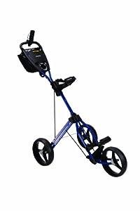 Bag Boy Express Auto Push Cart, Navy