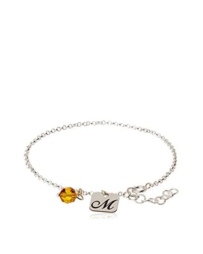 Silver One Pulsera Charms M