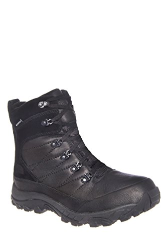 The North Face Men's Chilkat Leather TNF Black/TNF Black Boot 10 D (M)