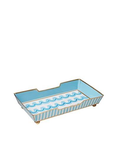 Malabar Bay Jetty Guest Towel Tray, Blue
