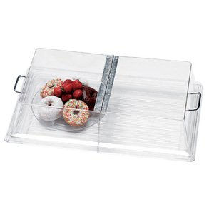 Cambro RD1220CWH Polycarbonate Rectangular Display Cover w/Hinge