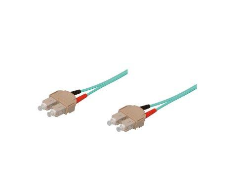 Patchkabel LWL Duplex OM3 (Multimode, 50/125) SC/SC, 2m, Good Connections®