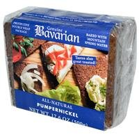 Bavarian Breads Rye, Pumpernickel, 17.6-Ounce (Pack of 6) from Bavarian Breads
