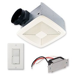 Broan Ssqtxe110 110 Cfm 0.7 Sone Ceiling Mounted Energy Star Rated And Hvi Certi, N/A front-593274