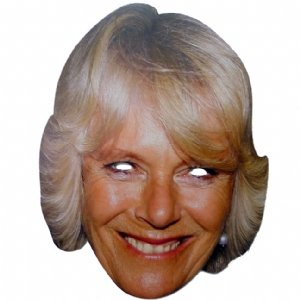 Celebrity Masks - Camilla