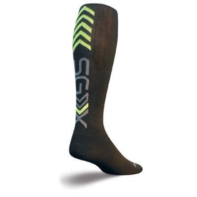 Image of SockGuy SGX 12in Elite Performance Cycling/Running Socks (B007SIRUQE)