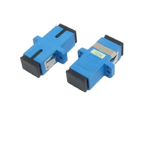 sourcingmap-sc-sc-bride-fibre-optique-5-db-attenuateur-de-connecteur-lot-de-2