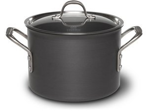 Calphalon 6-qt. Commercial Hard-Anodized Stockpot. by Calphalon