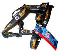 Pittsburgh Steelers SMALL Dog Harness 5/8