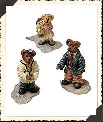 Boyds Bear Bearly Built Villages Boydsenbeary Acres Lil' Country Church Folks