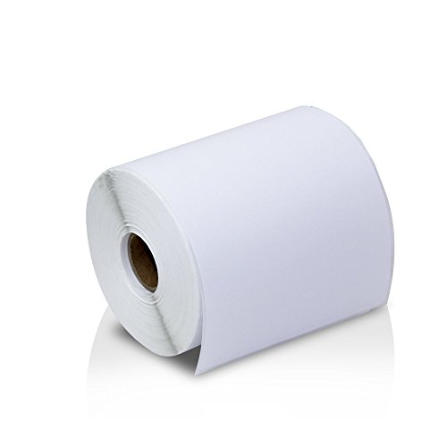 Metronic Postage Shipping Labels, White Thermal Label Printer Roll, 4
