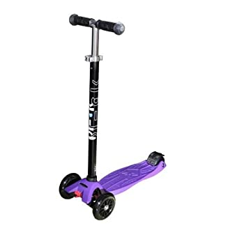 Maxi Kick Scooter - Purple with T-BAR Steering
