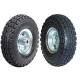"2 NEW 10"" AIR Tires Wheels 5/8"" ~ Pit Bull"