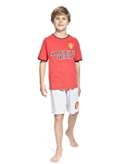 Manchester United Pyjama Shorts Set