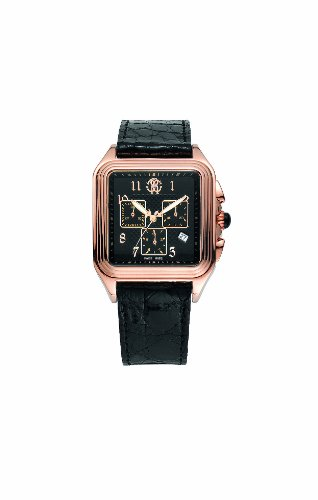 roberto cavalli mens watches uk watches store roberto cavalli men s venom chronograph watch r7251692025 rose gold pvd dial crown onyx