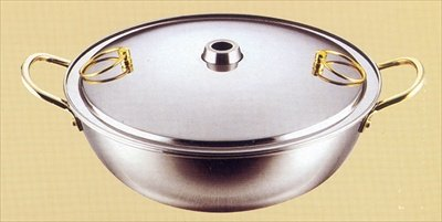 Japanese Shabu Shabu Nabe Hot Pot Pan 24cm 2.1 Liter