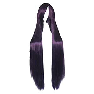Dream2reality Cosplay_Fate/Stay night_Matou Sakura&Sailor Mars Rei Hino_Long_100cm_purple black _Japanese kanekalon wigs