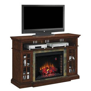 ClassicFlame Lakeland Media Console in Roasted Cherry - 28MM6307-C270