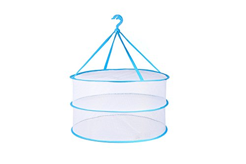 Portable Folding Drying Rack Hanging Clothes Laundry Hangers Dryer Net For Underwears Women Lingerie Woollen Sweater Baby Garments (Baby Clothes Dryer Rack compare prices)
