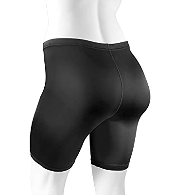 Plus Size Women's Spandex Exercise Short - Compression Workout Shorts *Made in USA*