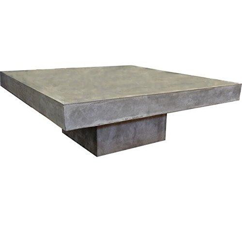 Tavolino quadrato in calcestruzzo
