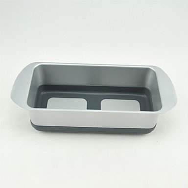 POP PAN Metal with Silicone Parts Non Stick And Easy Release Loaf Pan BOYI B00TEQN9QI