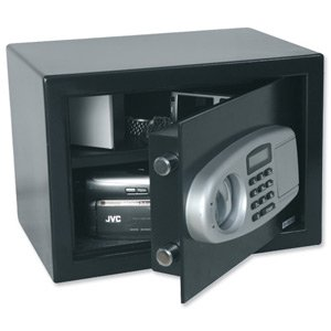 Phoenix 703BEB Digital Safe Changeable Code Electronic Lock 18L Capacity 14kg W350xD250xH250mm Ref 703BEB