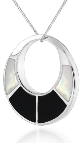 tuscany-silver-sterling-silver-round-cut-out-white-mother-of-pearl-and-black-onyx-pendant-on-adjusta