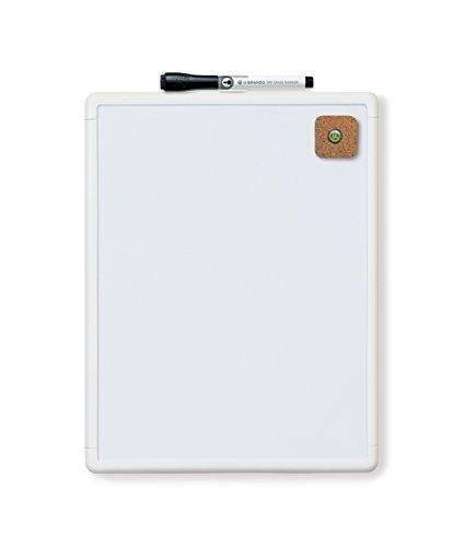 U Brands Contempo Magnetic Dry Erase Board, 8.5 x 11 Inches, White Frame (Fridge 11 compare prices)