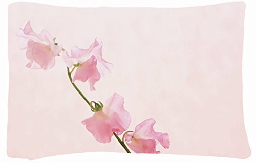 Microfiber Peach Standard Soft And Silky Decorative Pillow Case (20 * 26 Inch) - Nature Flowers Nature Flowers Quotes Valleys Iran Holland Macro Windmills The Netherland Nature Flowers front-832852