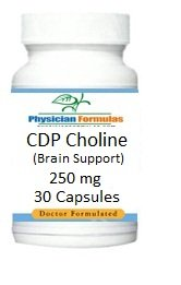 Cdp Choline, Brain Memory Support, Cytidine-5'-Diphosphate, 250 Mg, 30 Capsules - Endorsed By Ray Sahelian, Md
