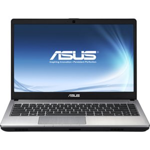 Asus U47VC-DS51 14.1 inch Notebook-Intel Core i5 i5-3210M 2.50 GHz-Bright Aluminum-1366 x 768 HD Display-8 GB RAM-750 GB HDD-DVD-Litt-NVIDIA GeForce GT 620M Graphics Birthday card-Bluetooth-Webcam-Genuine Windows 7 Home Scarce as hen's teeth-HDMI-by ASUS 
