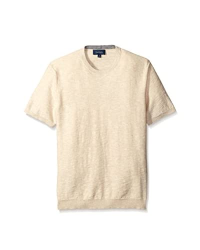 Thirty Five Kent Men's Short Sleeve Slub Knit T-Shirt